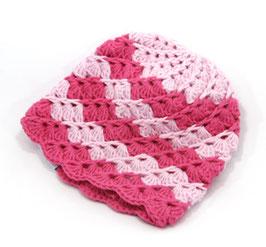 Häkelkäppchen rosa/magenta