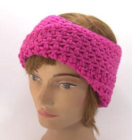 Merino Stirnband pink