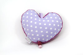 Spieluhr Herz lila