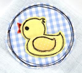 Nuscheli babyblau Ente