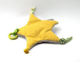 Spielstern gelb/grau