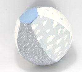 Ballonball klein mit Glöckchen hellblau