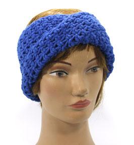 Merino Stirnband blau