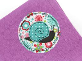 Nuscheli pink mit Schnecke