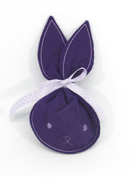Hasenbeutel violet