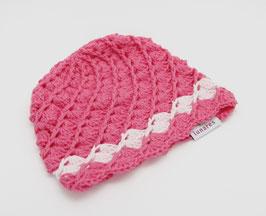Häkelkäppchen magneta/rosa