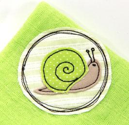 Nuscheli hellgrün Schnecke