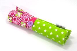 Etui hellgrün/pink