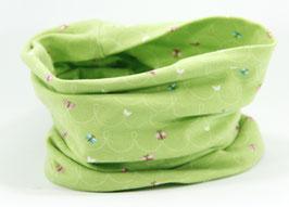 Jersey Loop hellgrün Schmetterling