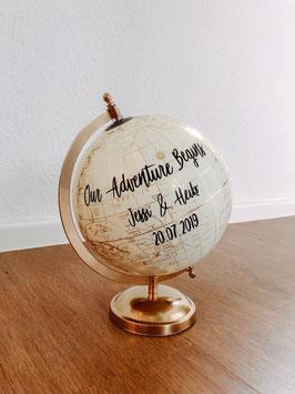Globus gold 20cm oder 30cm