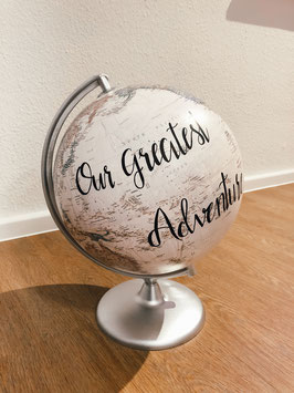 Globus silber