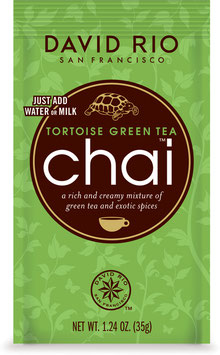 Tortoise Green Tea Chai Tassenportion