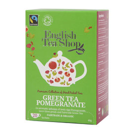 Grüner Tee Granatapfel