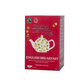English Breakfast Bio Schwarztee im Beutel