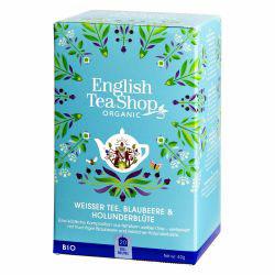 Weißer Tee Blaubeere & Holunderblüte