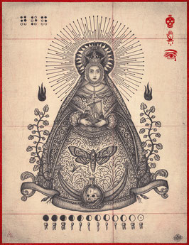 BLESSED VIRGIN - DANIEL MARTIN DIAZ
