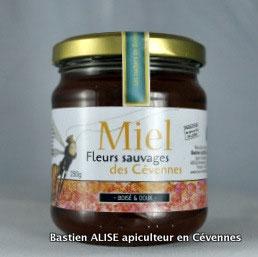 Miel de fleurs sauvages des Cévennes