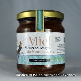Miel de fleurs sauvages du Mont-Lozère