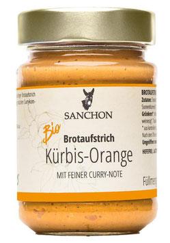 Sanchon GEMÜSE FRUCHTAUFSTRICH KÜRBIS-ORANGE 190g