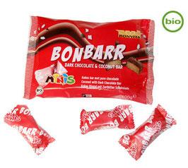 Bonvita - Bonbarr Kokosnussriegel umhüllt von Zartbitterschokolade 200g