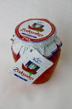 Zakuska mild (Paprikavorspeise) - Adria 290g