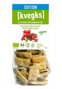 Kvegks - GETROCKNETE TOMATE CRACKER 90g
