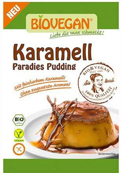 Biovegan - Karamell Pudding