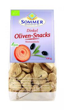 Sommer Oliven Snacks Röstzwiebeln 150g