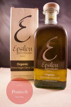 EPSILON Organic Extra Virgin Olive Oil 500ml (Papierbox)