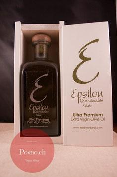 EPSILON Ultra Premium Extra Virgin Olive Oil 500ml (in Holzbox)