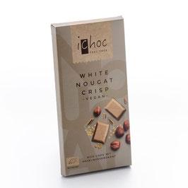 iChoc - White Nougat Crisp vegan 80g