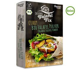 VANTASTIC FOODS FALAFEL FIX BIO FALAFEL PULVER CURRY, 170G