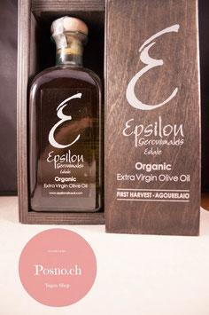EPSILON Organic Premium Agourelaio 500ml (in edler Holzkiste)