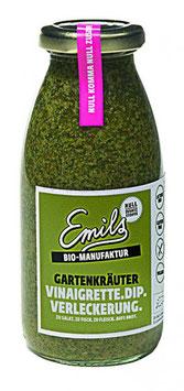 """Emils """"Gartenkräuter"""" – Vinaigrette & Dip (Bioland) 250ml"""