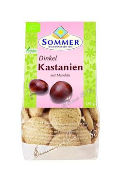 Sommer - KASTANIEN-DINKEL-PLÄTZCHEN 150g