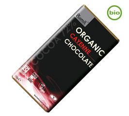 Plamil BIO CAYENNE Schokolade, 95g