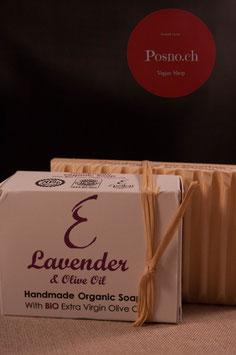 EPSILON Organic Oliven Öl Seife mit Lavendel