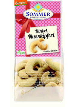 Sommer - DINKEL-NUSSKIPFERL 150g
