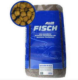 Allco Forelle Lachs Futter 6 mm 25 kg
