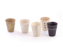 Set de 5 tasses Porcelaine Japonaise