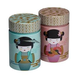 Boite à thé Geisha