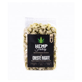 Hemp Factory -Creste rigate con farina di canapa