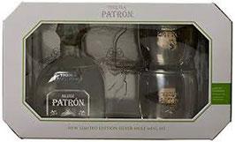 Tequila Patròn Silver + 2 mug