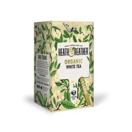 Heath & Heather- Organic white tea 20 filtri