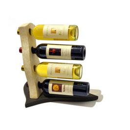 Stone Art - Portavino 4 bottiglie