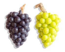 Weintrauben rot + grün