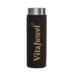 VitaJuwel ViA Schutzhülle lang in schwarz (ohne Flasche)