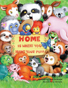 Home is Where You Hang Your Pupa book  and activity set