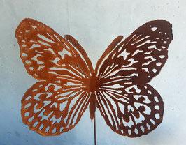 Schmetterling Edelrost 46cm