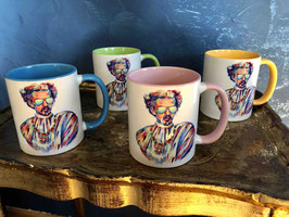 "4-er Set Tasse ""Inspired by the King"""